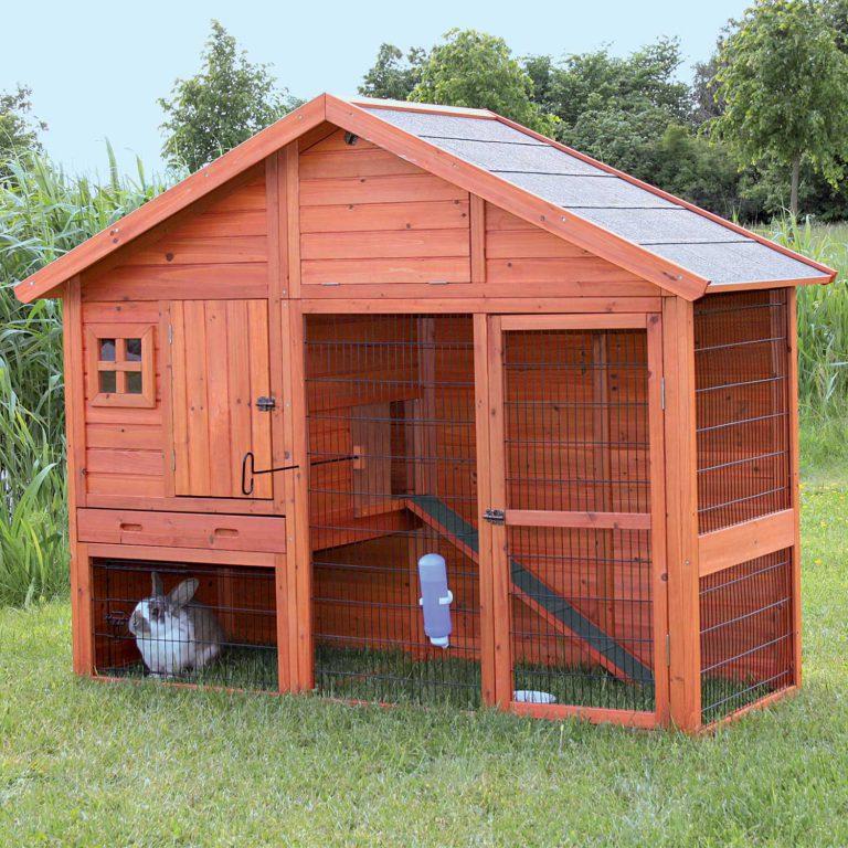 Tavşan Barınağı Yapımı (Evde veya Tavşan Çitliğinde Tavşanlık Kurulumu)
